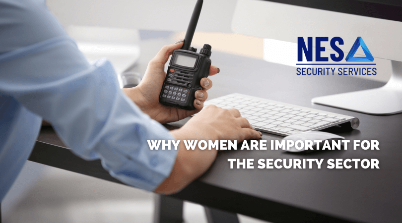 Why women are important in security