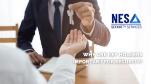Why are key holders important for security?